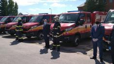"Nové hasičské vozidlo ""Iveco Daily"" v Brezovici"